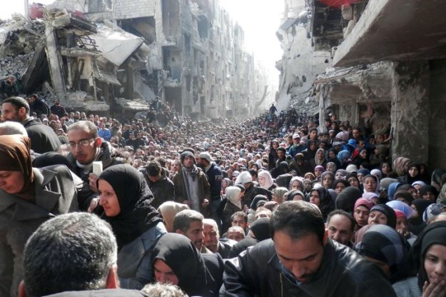 SYRIA-CONFLICT-AID-PALESTINIAN-YARMUK