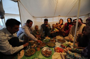 Syrian Refugees celebrate Ramadan